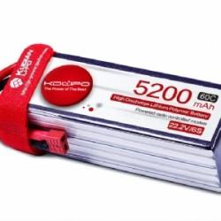 KDLipo 22.2V 5200mAh 6S 60C