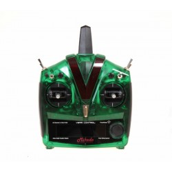 VBar Control Radio, green transparent