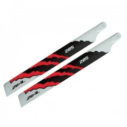 ZEAL Carbon Fiber Main Blades 285mm Energy Orange