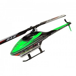 SAB Goblin Black Nitro 700 Green Thunderbolt Main and Tail Blades