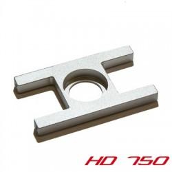 Bearing plate incl. screws