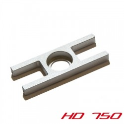 Bearing plate incl. screws