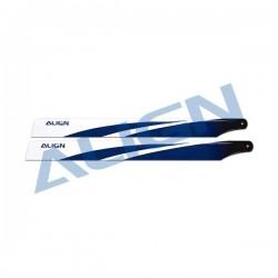Align 380 Carbon Fiber Blades Blue