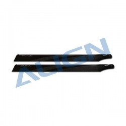 425 Carbon Fiber Blades Black