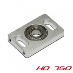 Counter plate for motor-shaft incl. screws