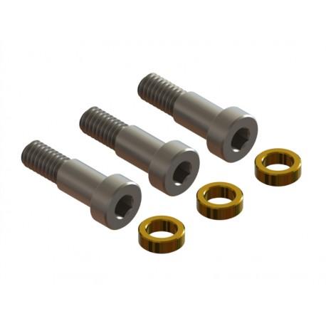 OXY3 - Qube 3 Blade Tail Hub Pin Screw - Set