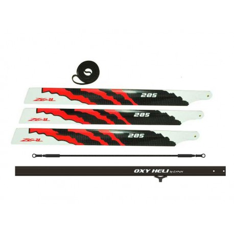 OXY3 - 285 Stretch + 3 - 285 mm ZEAL CF Main Blade, Combo