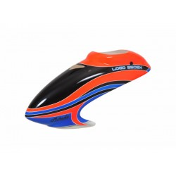 Canopy LOGO 550 SX V2 neon-orange/blue
