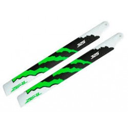 Zeal Blades Carbon Fibre 325mm Energy Green