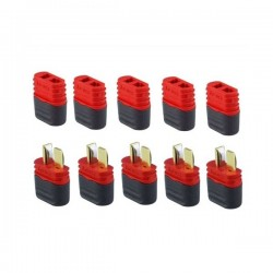 Gold connector compatible with Deans Ultra Plug 5 pairs