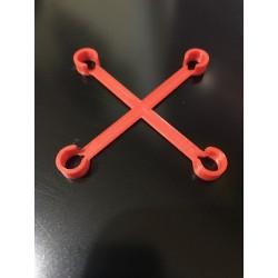 Inductrix FPV Frame Stiffener Red