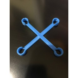 Inductrix FPV Frame Stiffener Red