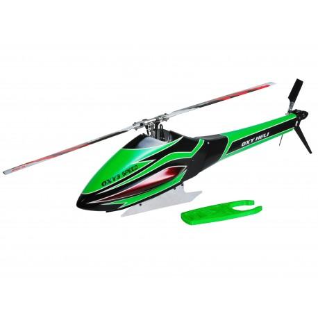 SP-OXY3-228 Oxy3 Speed Fuselage, Green