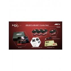 MKS HBL 665 x 3 + HBL 669 x 1 HV DIGITAL SERVO BRUSHLESS COMBO