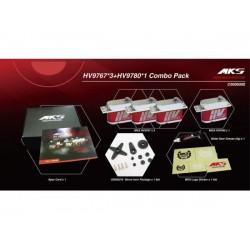 MKS HV Digital Servo combo 3x HV9767 and 1x HV9780