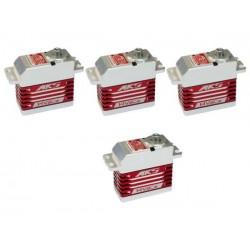 MKS HV Digital Servo Brushless combo 3x HBL960 and 1x HBL990
