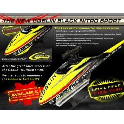 Goblin 700 Black Nitro SPORT