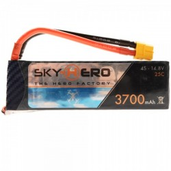 Sky hero Lipo 4s 3700 Little Spyder Gens ace 25C