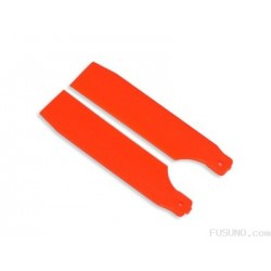 FUSUNO Extreme Stiff XS Engineering Plastic Tail Blade 62 mm Neon Orange