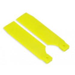 FUSUNO Extreme Stiff Engineering Plastic Tail Blade 85 mm Neon Orange