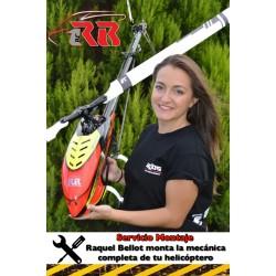 SERVICIO MONTAJE HELICOPTERO TAMAÑO 450-500