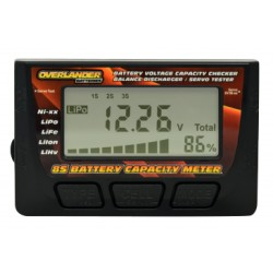 Overlander 8S battery checker