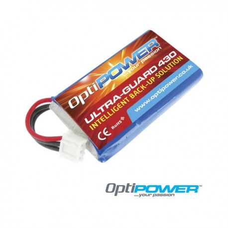 Optipower ULTRA-GUARD 430 Replacement 430Mah Lipo Battery