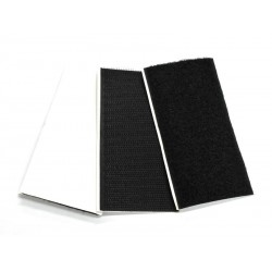 Hook & Loop HD Adhesive Pad 50x100 - (10H + 12L) - Black