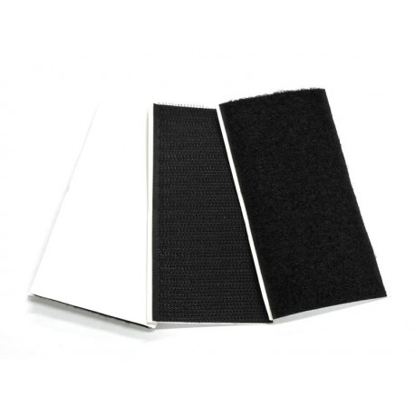 Hook & Loop HD Adhesive Pad 50x100 - (10H + 12L) - Black