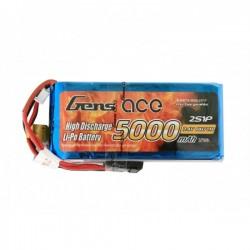 5000mAh 7.4V 25C 2S1P RX Lipo