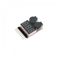 Low Voltage Buzzer Alarm & Voltage Tester 1-8 s
