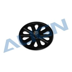 Autorotation Tail Drive Gear 145T, M0.6, black