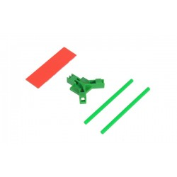 Antenna support flat mounting, green