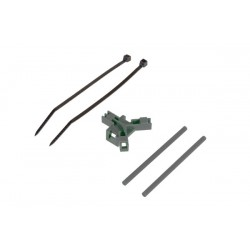 Antenna support for tailboom, grey