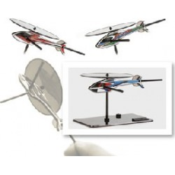 Mini Helicopter Figure for F3C/3D Image Training