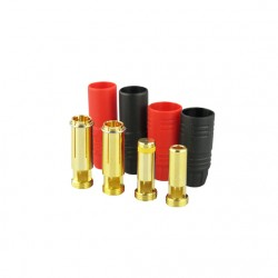 Gold connector | AS150 | Ø7,0mm | anti spark | 1 set
