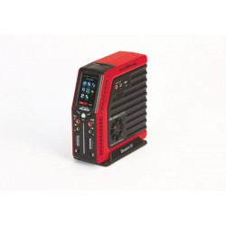 Polaron AC/DC charger red