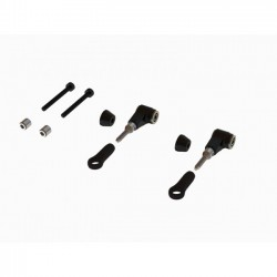 OXY3-4 CNC Alu DFC Arm, Set - Black