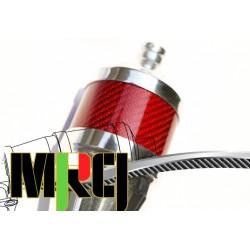 YS 120 MRCI Muffler Blue Carbon