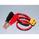 Adaptor compatible with XT60 socket Ø4,0mm banana plug