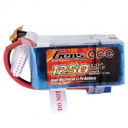 Gens Ace 6S 1250mah 60C