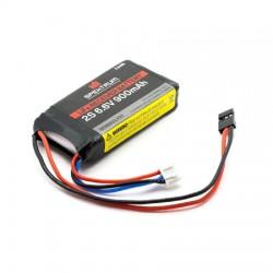 900mAh 2S 6.6V Li-Fe Receiver Battery