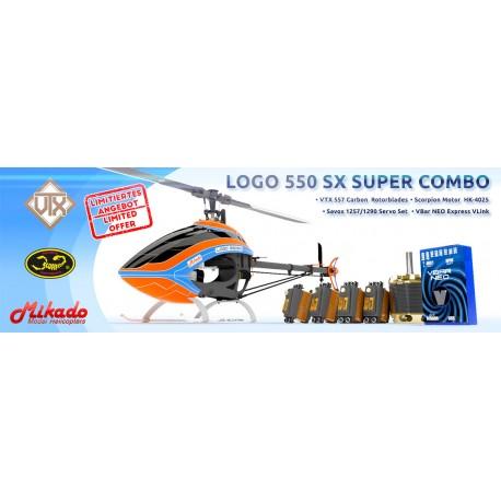 LOGO 550 SX Super Combo
