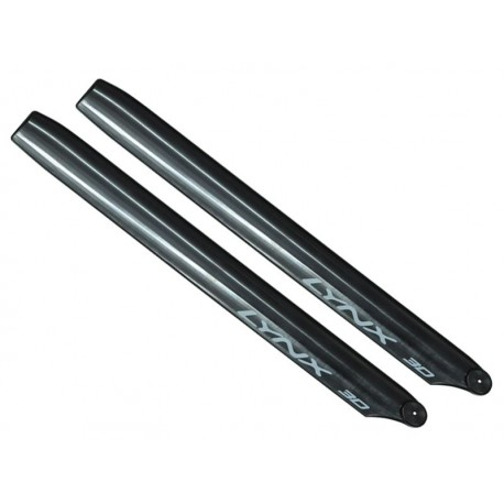 OXY3 - Lynx Plastic Main Blade 275 mm - Black