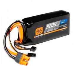 SMART LiFe 3200mAh 9.9V 3S Receiver ECU IC3