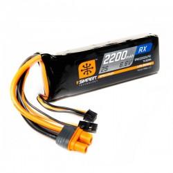 SMART LiFe 2200mAh 6.6V 2S Receptor IC3