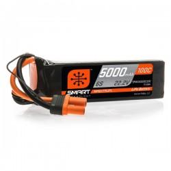 SMART LiPo 5000mAh 22.2V 6S 100C IC5