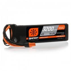 SMART LiPo 3200mAh 14.8V 4S 100C IC3