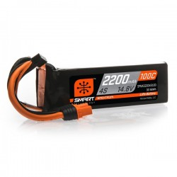 SMART LiPo 2200mAh 14.8V 4S 100C IC3