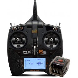 Spektrum DX6e 6ch System With AR610 Receive